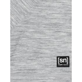 super.natural Logo Maglia A Maniche Corte Uomo, grigio